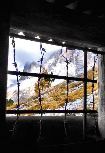 Firstworldwar Mountains Dolomites, Italy Window War firstworldwar Firstworldwarlocation