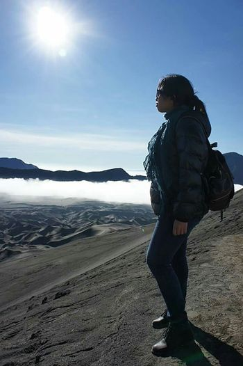 My best friend forever, on top of volcano mountain @ Mount Bromo , Surabaya, East Of Java, INDONESIA Travelling Friendship EyeEm Nature Lover