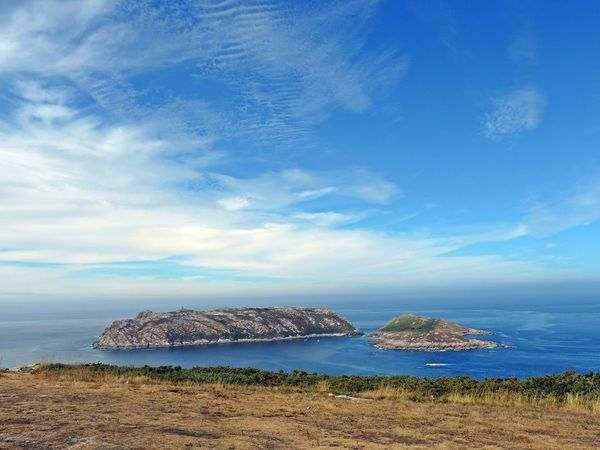 Blue Sky Sea No People Cloud - Sky Outdoors Nature Water Beauty In Nature Day Galicia Landscape Galicia, Spain Beauty In Nature Nature