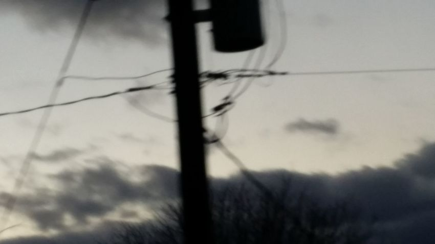 Driving south on Waltonville Road Sunset Drivebyphotography Windy Day No Filter, No Edit, Just Photography