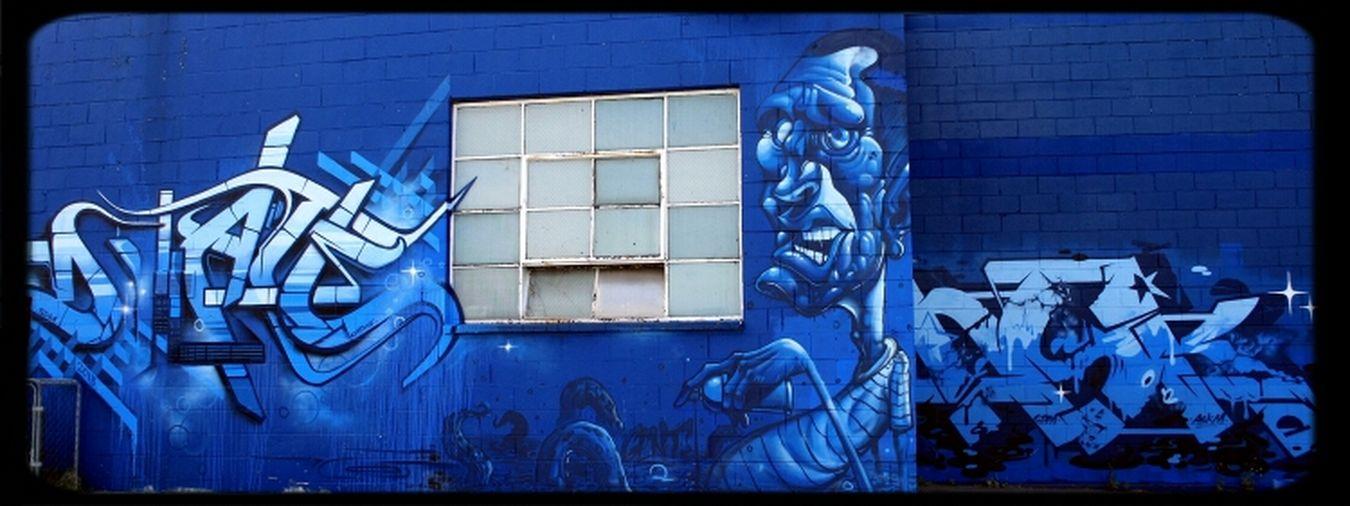 Graffiti Streetart Mural DVATE Askm Gent48