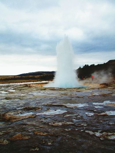 Geyser Icelandic Nature Iceland_collection Iceland Trip