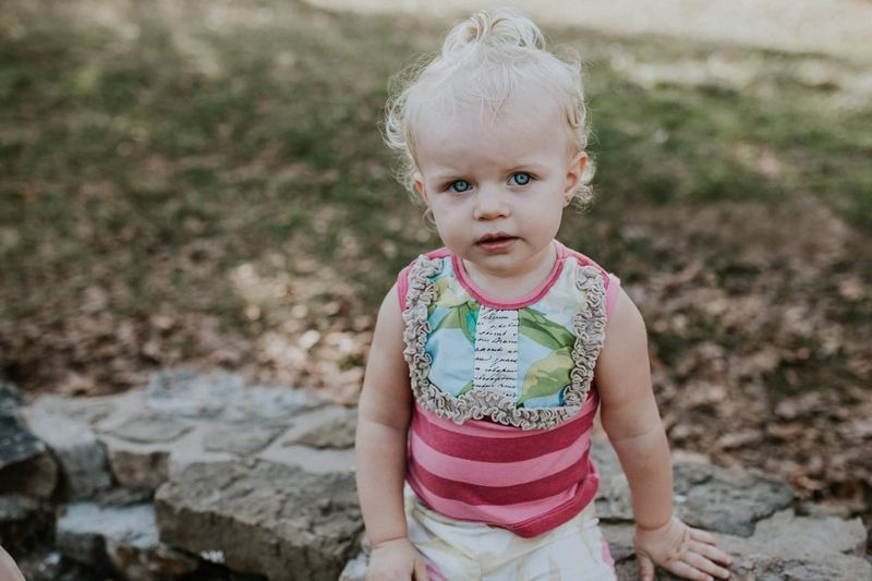Sweet grace. Blond Hair Focus On Foreground Front View One Person Outdoors Childhood Day People Babies Only