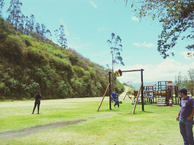 All You Need Is Ecuador Park Hanging Out Enjoying Life