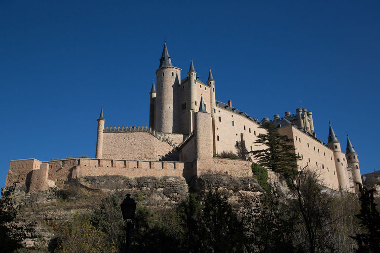 The Alcazar in Segovia in Spain Ancient Ancient Civilization Architecture Building Exterior Built Structure Castle Famous Place Fort History House Old Old Ruin Outdoors Religion Ruined Spain, Madrid, Tourism, Tourist, Buildings The Past Tower Town