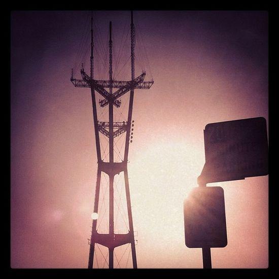 Sutro Sunset Sunset San Francisco Sanfrancisco Sutro Sunset