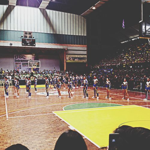 Yesterday Cheerdancecompetition USC ;)