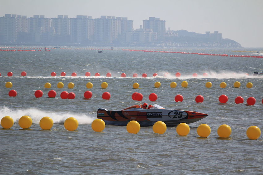 Morning Boats Sports Race In A Row Water Outdoors No People Nautical Vessel Day Architecture Sky Mumbai Power Boats Water Sports Boat Motion Speed Architecture Race Sea Business Finance And Industry Splash Break The Mold