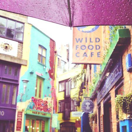 Neal's Yard London Uk Rainy Colors