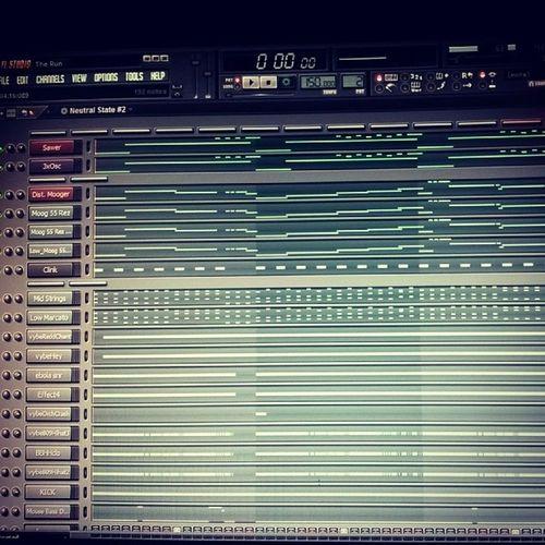 Pattern for the run FLStudio Music HipHop Sawer 3xOsc 150Bpm