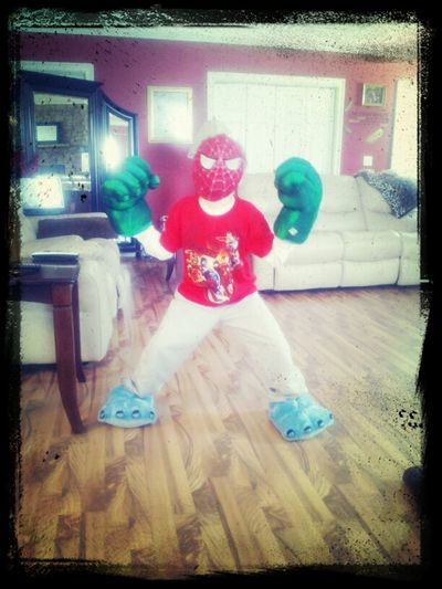 my crazy boy :)