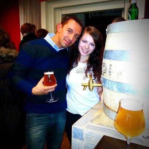Degustazione di birre Postaja Novagorica Slovenia Birra Chebellaserata