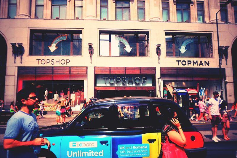 London Shopping Oxford Street City Of London