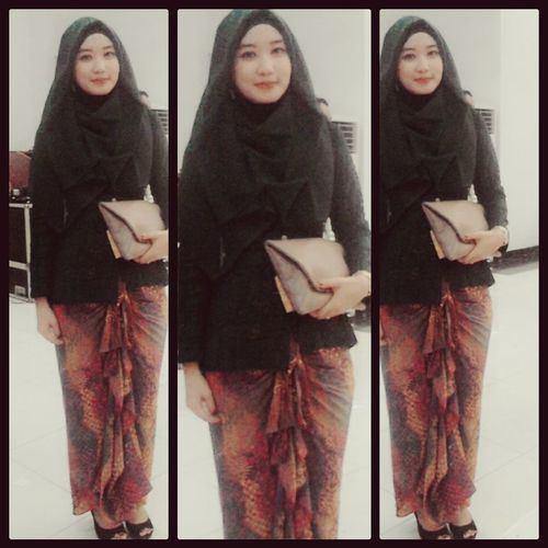 my traditional outfit Kebaya Batik Indonesia 💗