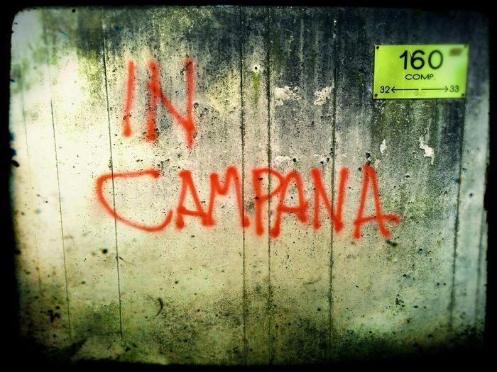 In Campana Street Murals Wall