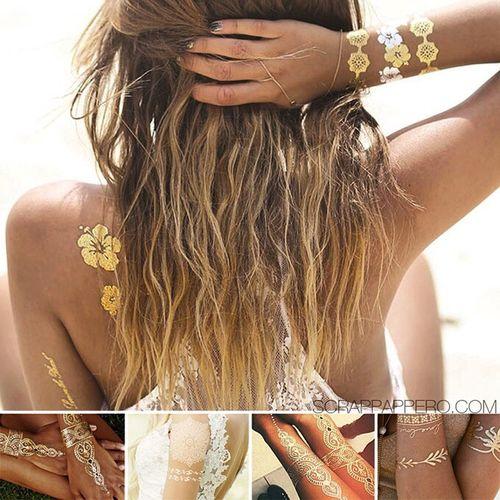 Scrappappero Tattoos Metallictattoos Tatuaggitemporanei Fashion Moda Rimini Picoftheday Tattoo ❤ Girlswithtattoos