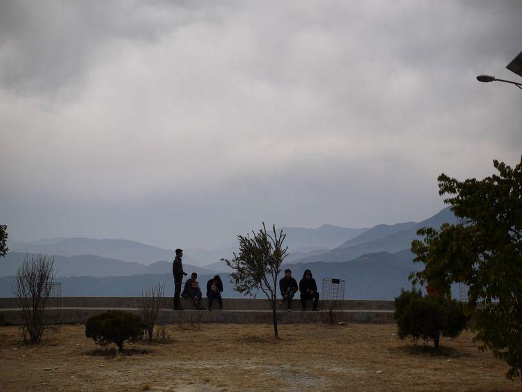 Dramatic Sky Outdoors Nature Landscape Sky Nature Reserve Himalayas Tranquility Photooftheday Nepal Travel