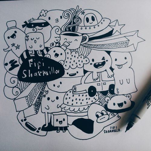 Cute♡ Doodle. Art Yourself Art Is Awesome