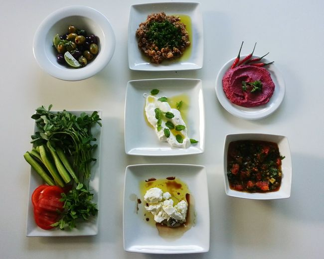Middle Eastern mezze Food Healthy Eating Freshness Middle East Mezze Yummy Clean Eating