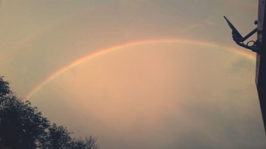Landscape Double rainbow?