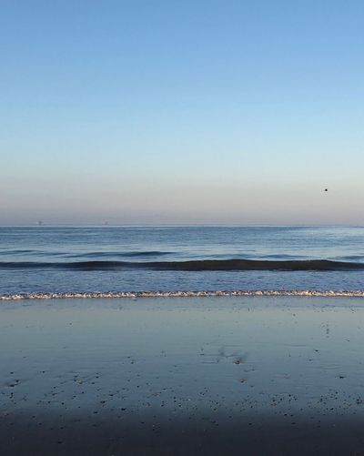 Happy Friday Layers Ocean Life Is A Beach Morning Beachphotography Water Sea Sky Scenics - Nature Land Beach Beauty In Nature Horizon Over Water Tranquility Blue
