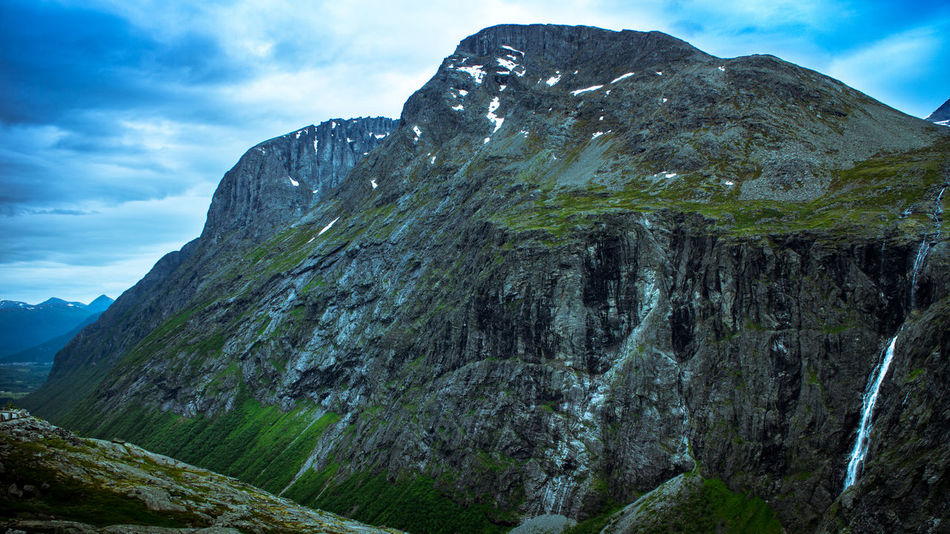 Beauty In Nature Landscape Mountain Mountain Range Nature Norway Outdoors Peak Rocky Mountains Scenics Tranquil Scene Tranquility Trollstigen