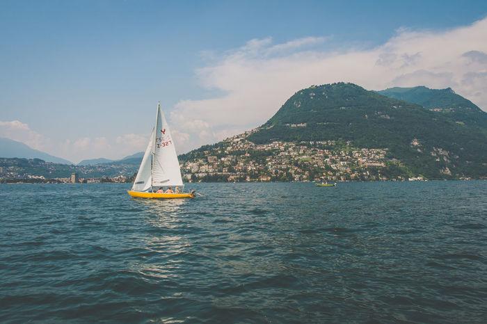 Lugano, Schweiz Beautiful Beautiful Nature Boating Hiking Holiday Lago Di Lugano  Luganer See Luganersee Lugano Lugano, Switzerland Outdoors Sailing Schweiz Summer Summertime Switzerland Vacation Wanderlust Wandern Wassersport Watersports Fujifilm_xseries Fujixseries