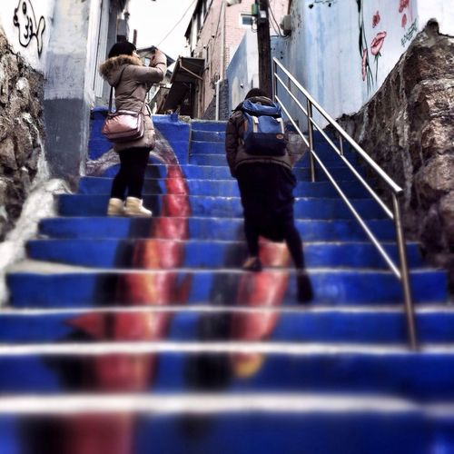 Climbing Pisces Steps Travel Photography People Street Photography Street Art