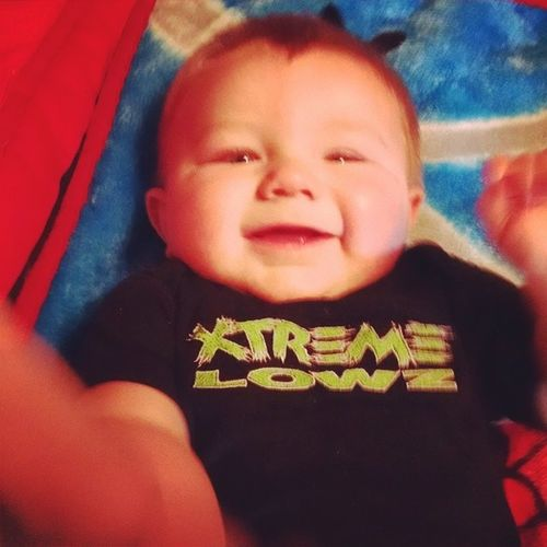 Xtreme Lowz Baby! Xtremelowz Cutestbaby Babyproblems Babylife minitrucker totesadorbs