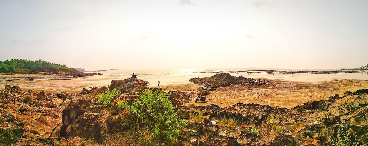 Beach Sand Water Beauty In Nature Velankanni Redmi Note 4 Click