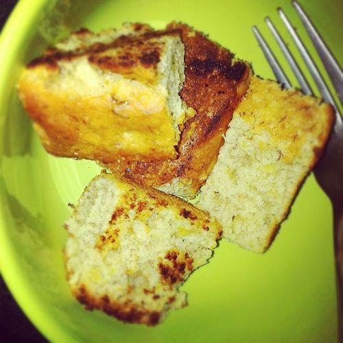 Toasted banana bread! Yum Toastedbananabread Bananabread Sick