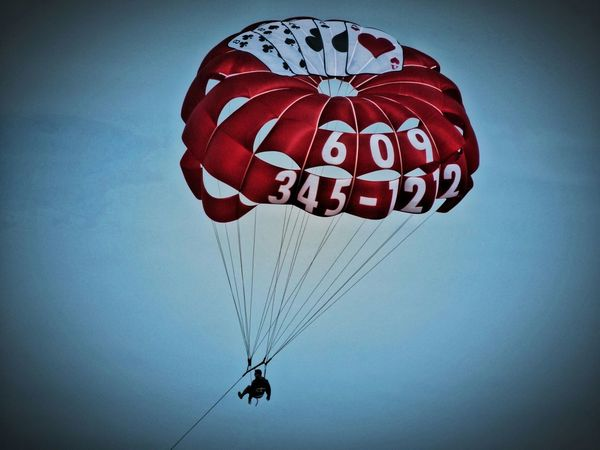 Something in the air Paragliding Advertising Up In The Sky In The Sky Paraglider Portrait Of America Man In The Moon Sky View Hanging Out Sky