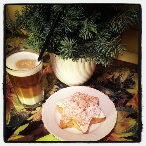 Apfel -Zimt - Stern & Kaffee - best Kombi zum 3. Advent !! <3 Enjoying Life That's Me Hi! Christmas Is Coming Love Christmas Wintertime Apple Cinnamon Star