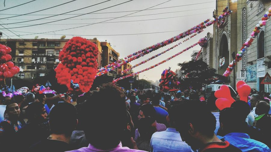 Large Group Of People Celebration Crowd Traditional Festival Built Structure Architecture Outdoors City People Men Sky Women Building Exterior Adult Adults Only Togetherness Day Real People Scenics Arts Culture And Entertainment Backgrounds Egyptdailylife This Is Egypt ❤ Photographing