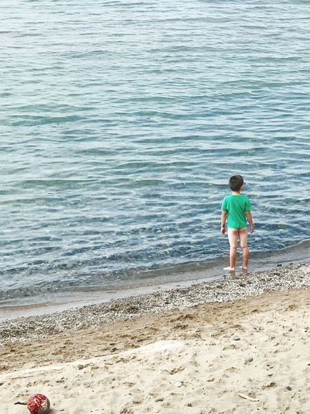 O where o where has my little dog gone? Lake Huron, Canada Grand Bend, Ontario Beach Land Water Real People Sea Sand One Person Child Standing Outdoors Lifestyles