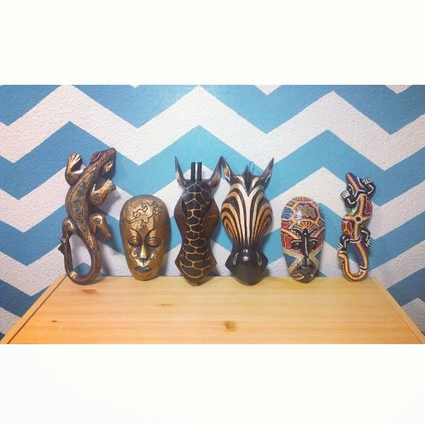 Dos nuevas adquisiciones se unen a la familia.. ☺ Mascaras  Salamandras Menorquinas