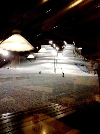 inside out Passo Brocon Ski Slope Illuminated Inside Night Illuminated Beach Outdoors