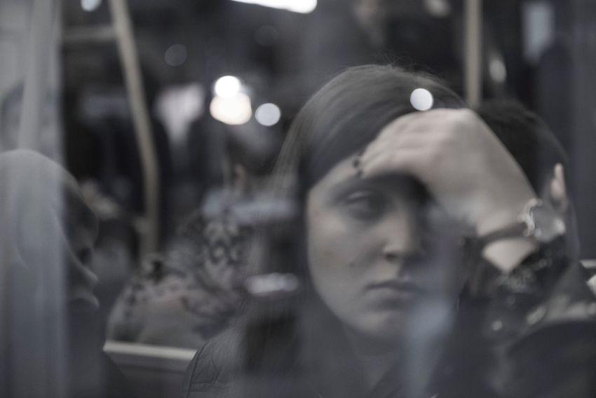 Women Metro Train Traveling Travel Streetphotography Izmir Izmirlife Izmirdeyasam