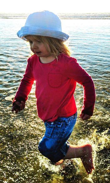 Childhood Water Beach Morro Bay California Outdoors