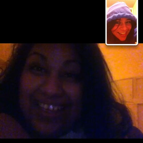 FaceTime with the bestie ❤ @eslyboo Bestie  Wecuties MissHer Cantwaittoseeher sickbuddies