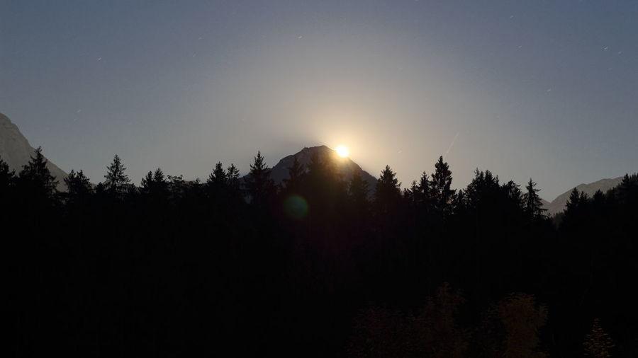 Moon Mooninmountains Moonrise Moonrising The Week On EyeEm