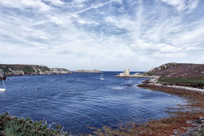 Tresco Scilly Isles Sea Ocean