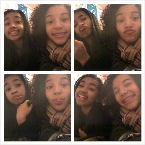 me & my goofy cousin (;
