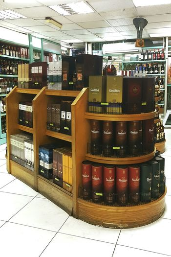 Store Indoors  No People Whisky Whiskycollection Africa Tanzania Eastafrican Airport Dutyfreeshop