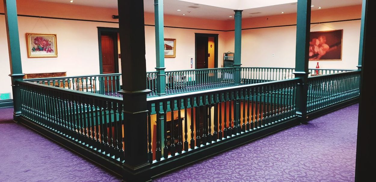 Hotel USA Spokane Washington City Architecture Railing Historic Steps And Staircases Stairs Staircase Steps Hand Rail Stairway History Architectural Column Amphitheater