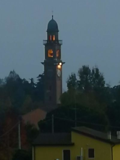 Holiday Moments City Tree Clock Clock Tower Illuminated History Tower Sky Architecture Building Exterior