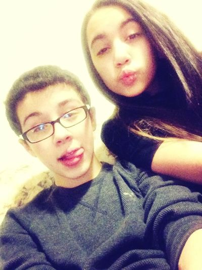 With Gina❤