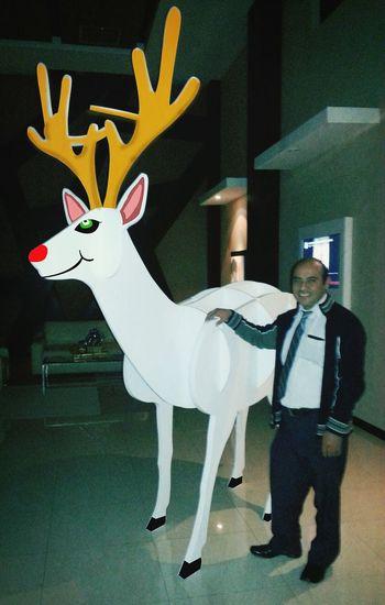 Aqui con el papá de Bambi Enjoying Life