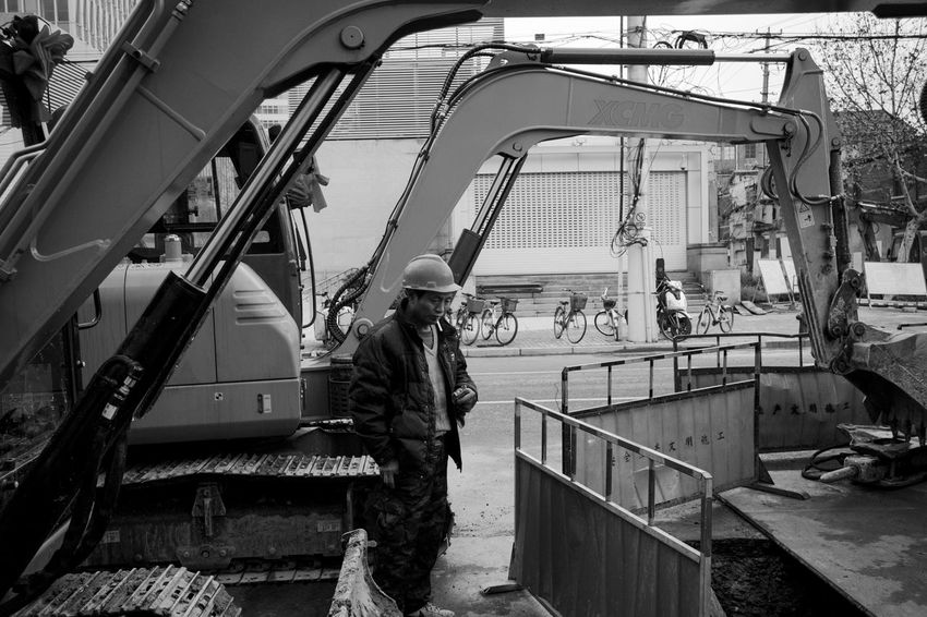 Transportation Real People Mode Of Transportation Men Occupation Day People Water Nautical Vessel Standing Architecture Nature Working Railing Clothing Full Length Outdoors Uniform Government Streetphotography Blackandwhite LEICA M