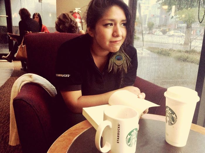 Lobby Starbucks Coffee Coffee Oldtime